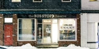 The Bus Stop Theatre continues its drive to purchase its building as the July 2020 deadline looms. Photo by Mel Hattie.