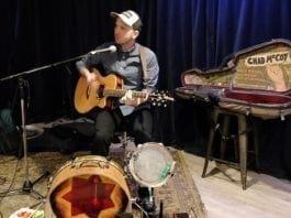 Chad McCoy Live at The Carleton. Photo by David Hannigan.