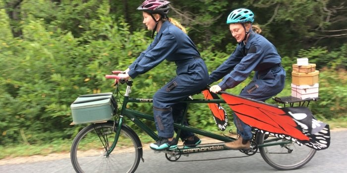 Gale Force Theatre delivers with A Tale on Two Wheels