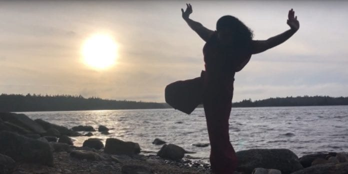 A screenshot from Halifax dance artist Liliona Quarmyne's contribution to Tessel. Photo: Mo Phung.